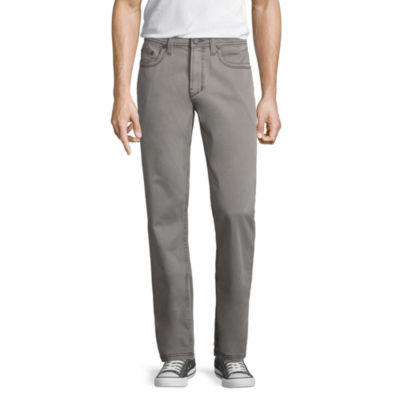 Decree Chino Slim Fit Flat Front Pants