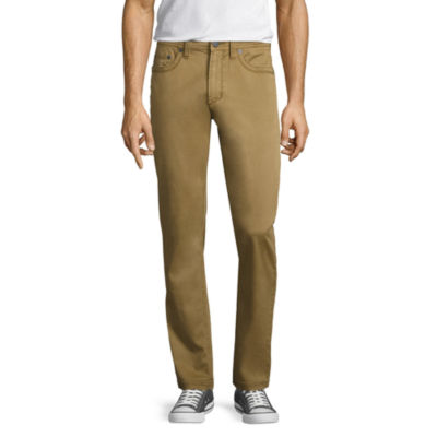 Decree Chino Slim Fit Flat Front Pants
