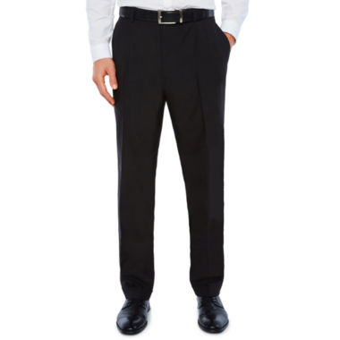Stafford Classic Fit Pleated Pants