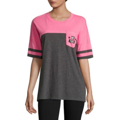 "Flirtitude ""Not Today"" Graphic T-Shirt- Juniors"