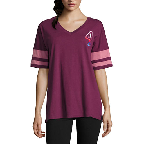 Flirtitude NY Graphic T-Shirt- Juniors