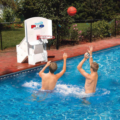 Swimline Cool Jam Pro Poolside Basketball Game Pool Toy