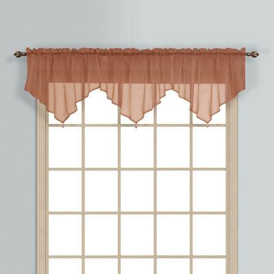 United Curtain Co Monte Carlo Rod-Pocket Valance