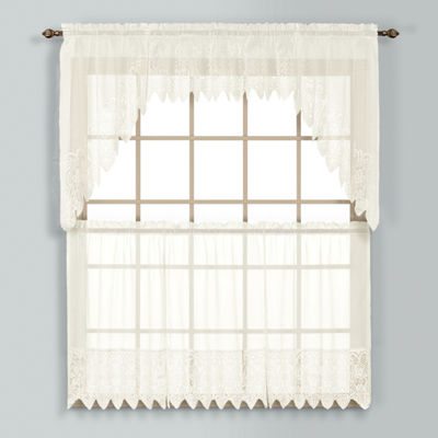 United Curtain Co Valerie Rod-Pocket Kitchen Valance