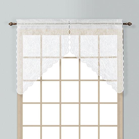 United Curtain Co Windsor Rod-Pocket Kitchen Valance
