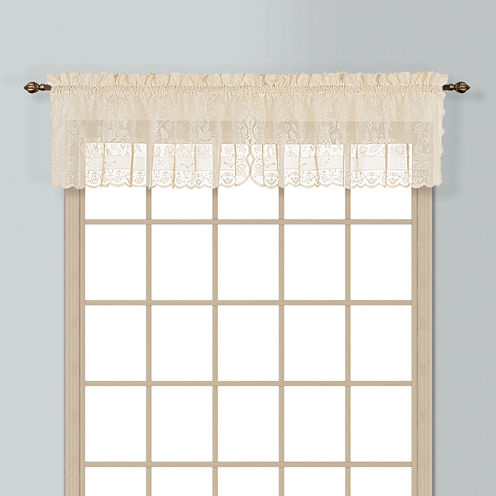 United Curtain Co Windsor Rod-Pocket Valance