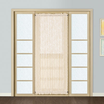 United Curtain Co Windsor Rod-Pocket Door Panel Curtain