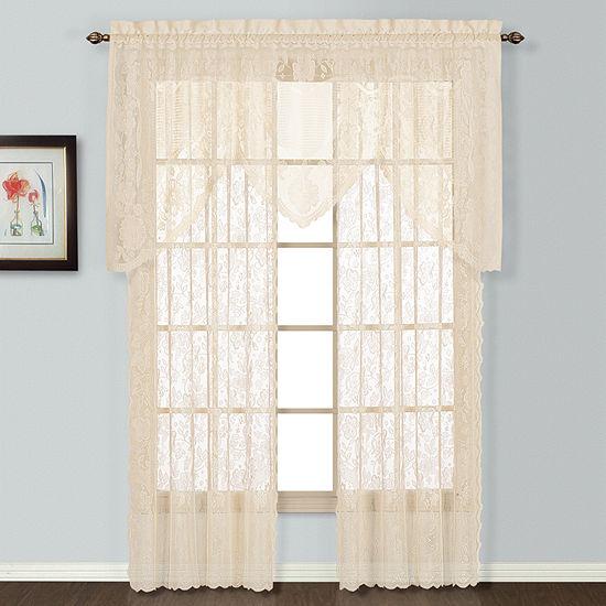 United Curtain Co Windsor Rod-Pocket Curtain Panel