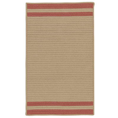 Colonial Mills Sonoma Accent Stripe Braided Rectangular Reversible Rugs