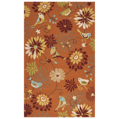 Surya Patterson Rectangular Indoor/Outdoor Accent Rug