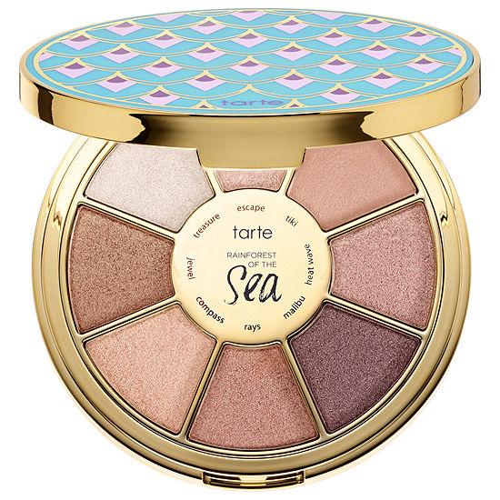 tarte rainforest of the sea highlighting eyeshadow palette vol iii