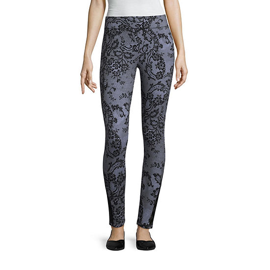 Mixit Print Legging With Strappy Ankle