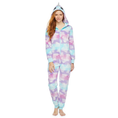 Mommy and Me Narwhal One Piece Pajama - Womens