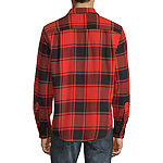 Arizona Mens Long Sleeve Flannel Shirt