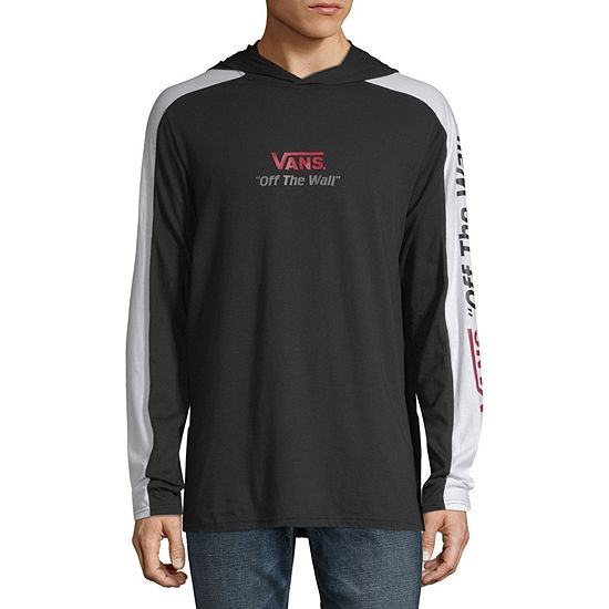 Vans Mens Hooded Neck Long Sleeve T-Shirt