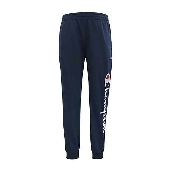 Champion French Terry Jogger Big Boys Tapered Jogger Pant