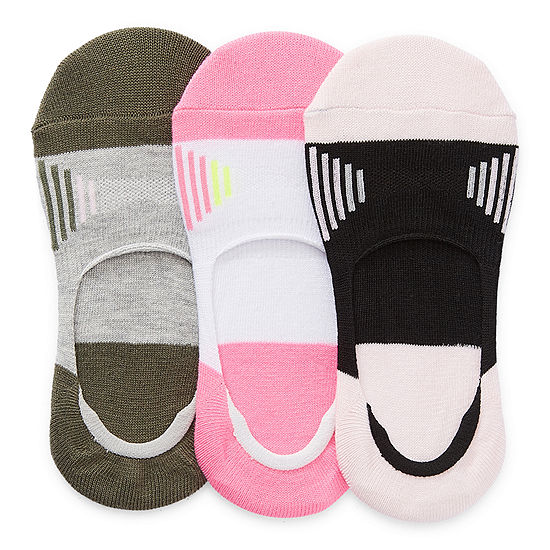 Xersion Big Girls 6 Pair Liner Socks