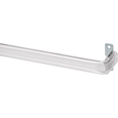 Bali® Clear Adjustable Curtain Rod