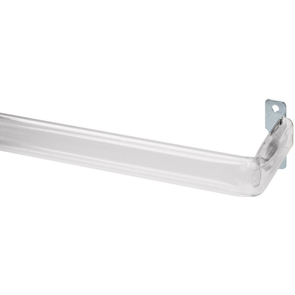 "Bali® 2½"" Clear Adjustable Curtain Rod"