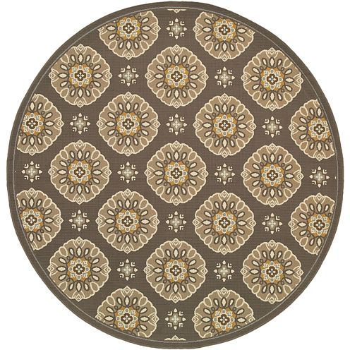 Covington Home Sand Dollar Indoor/Outdoor Round Rug