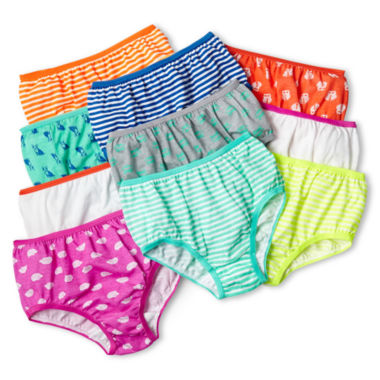 Maidenform 10-pk. Rainbow Brief Panties - Girls 4-14