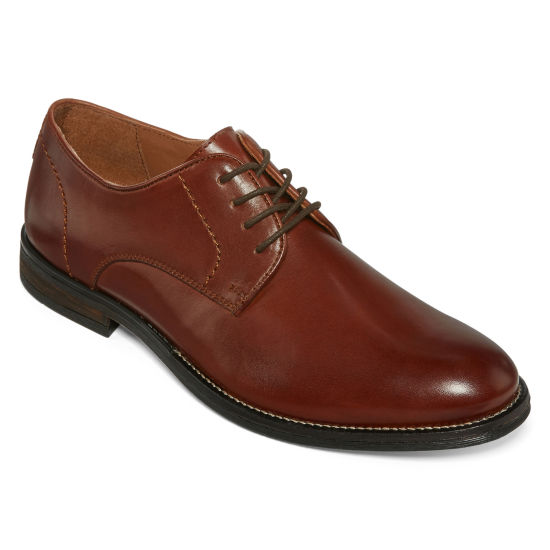 Stafford® Zayne Mens Plain-Toe Dress Shoes