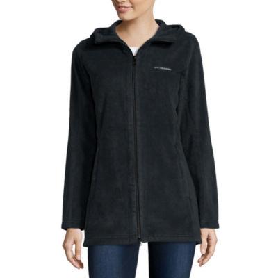 Columbia Three Lakes Long Fleece Hooded Lightweight Jacket