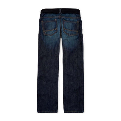 Arizona Belted Original-Fit Jeans - Boys 8-20, Slim and Husky