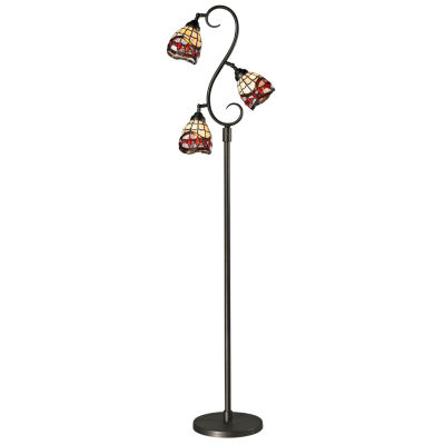 Dale Tiffany™ 3-Light Fall River Floor Lamp