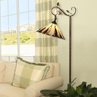 Dale Tiffany™ Ripley Downbridge Floor Lamp