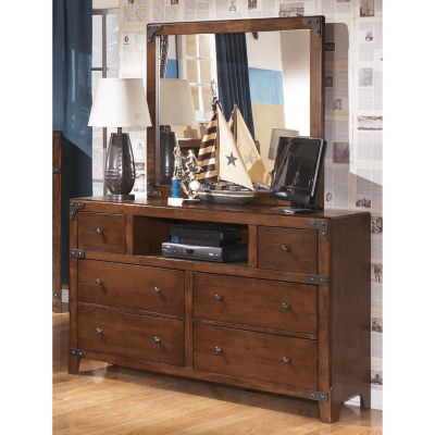 Signature Design by Ashley® DELBURNE DRESSER AND MIRROR