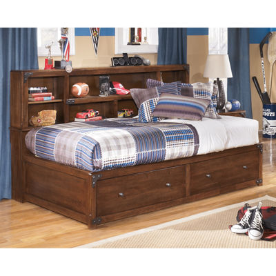 Signature Design by Ashley® DELBURNE TWIN STORAGE BED