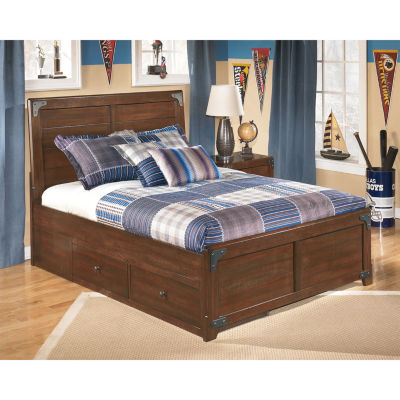 Signature Design by Ashley® DELBURNE FULL PLATFORM PEDESTAL BED