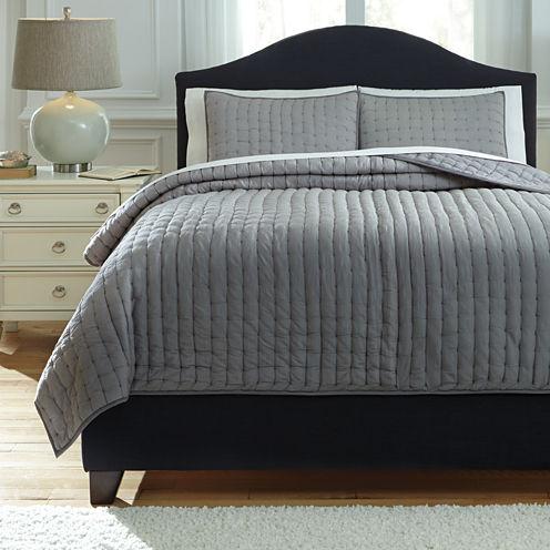 Signature Design by Ashley® Teague 3-pc. Comforter Set