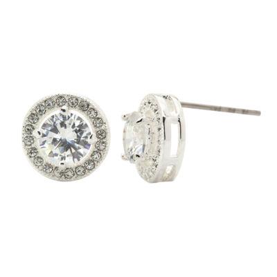 Sparkle Allure Clear 10mm Stud Earrings