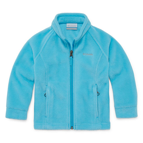 Columbia Lightweight Fleece Jacket-Toddler Girls