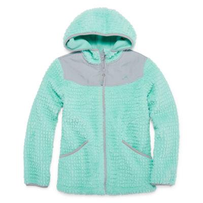 Vertical 9 Lightweight Fleece Jacket-Big Kid Girls