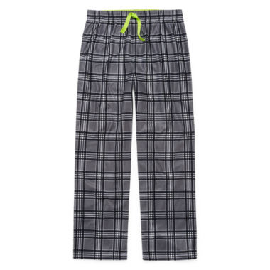 Arizona BMJ Grey Plaid Sleep Pant- Boys 4-20 & Husky