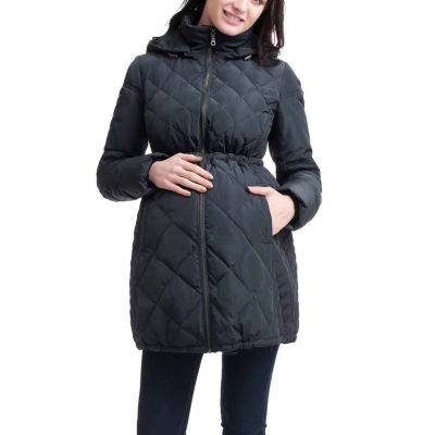 Momo Baby Bryn Quilted Jacket-Maternity