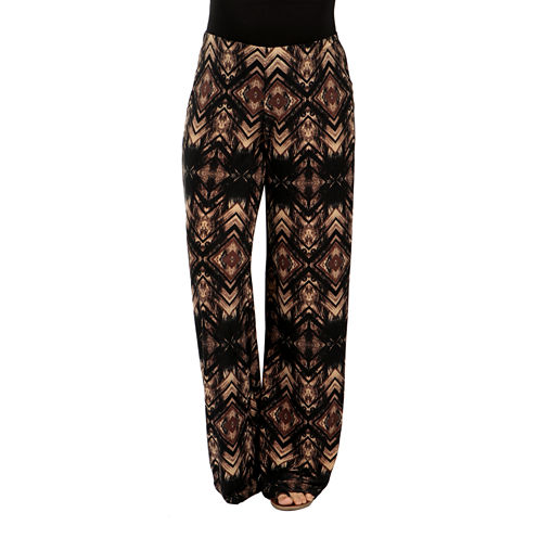 24/7 Comfort Apparel Glamour Goes Anywhere Wide Leg Maternity Pants
