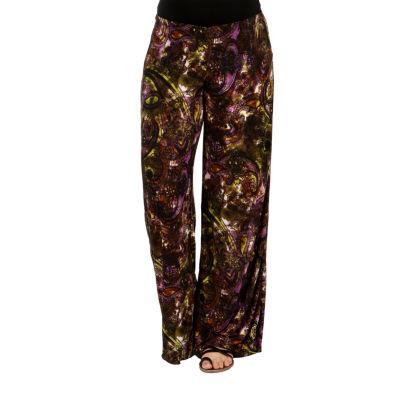 24/7 Comfort Apparel Elegance Without Effort WideLeg Maternity Pants