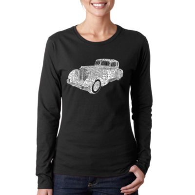 Los Angeles Pop Art Mobsters Long Sleeve Graphic T-Shirt
