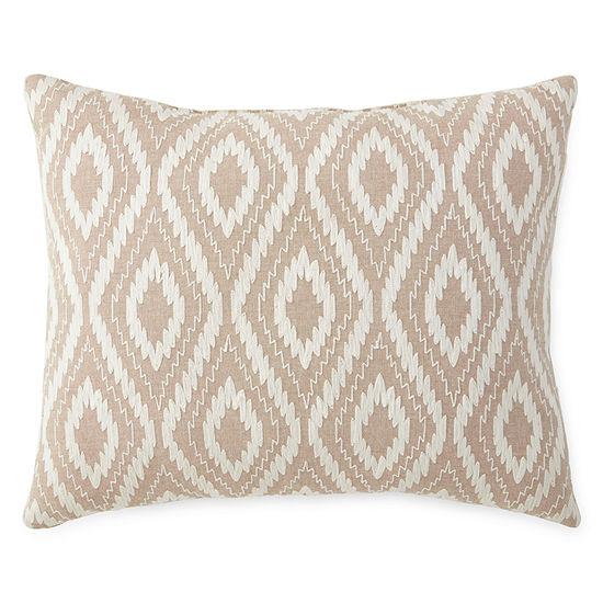 Linden Street Kenora Embroidered Oblong Decorative Pillow