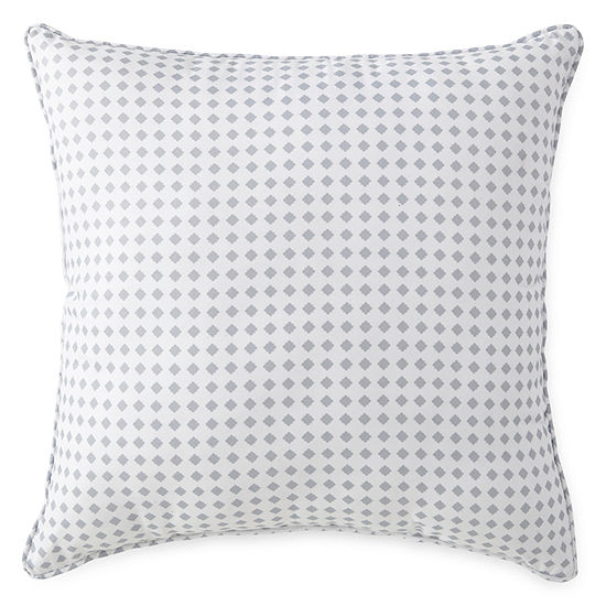 Home Expressions Tiles Square Throw Pillow