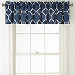 Home Expressions Tiles Rod-Pocket Tailored Valance