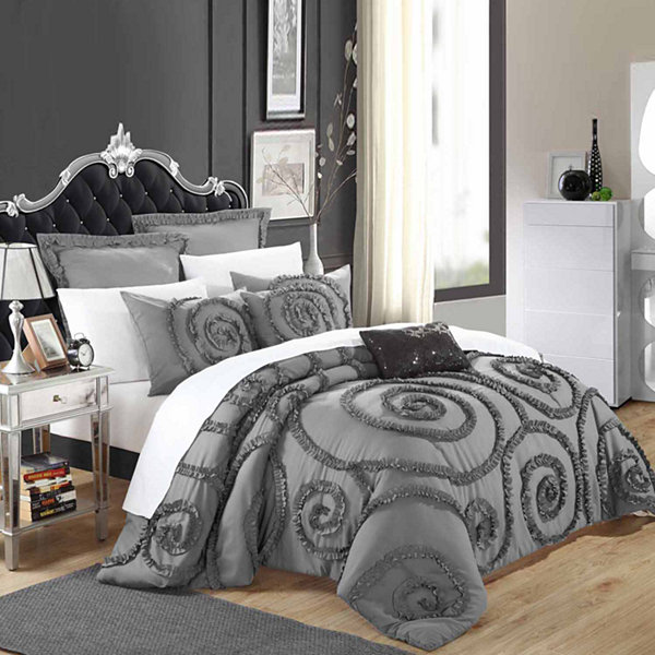 Chic Home Rosalia 11-pc. Midweight Comforter Set