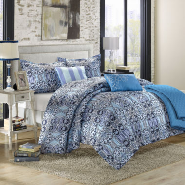 Chic Home Lynwood 10-pc. Midweight Reversible Comforter Set
