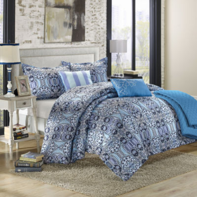 Chic Home Lynwood 6-pc. Midweight Reversible Comforter Set