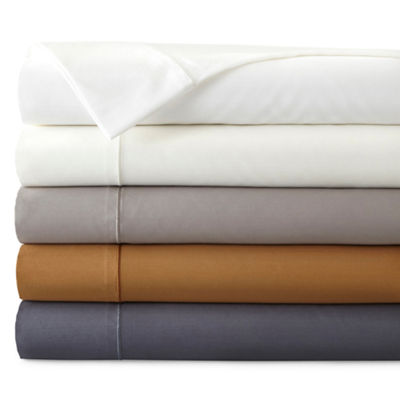 Royal Velvet Wrinkle Guard 400tc Sateen Wrinkle Free Sheet Set