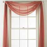 JCPenney Home Tori Sheer Window Scarf